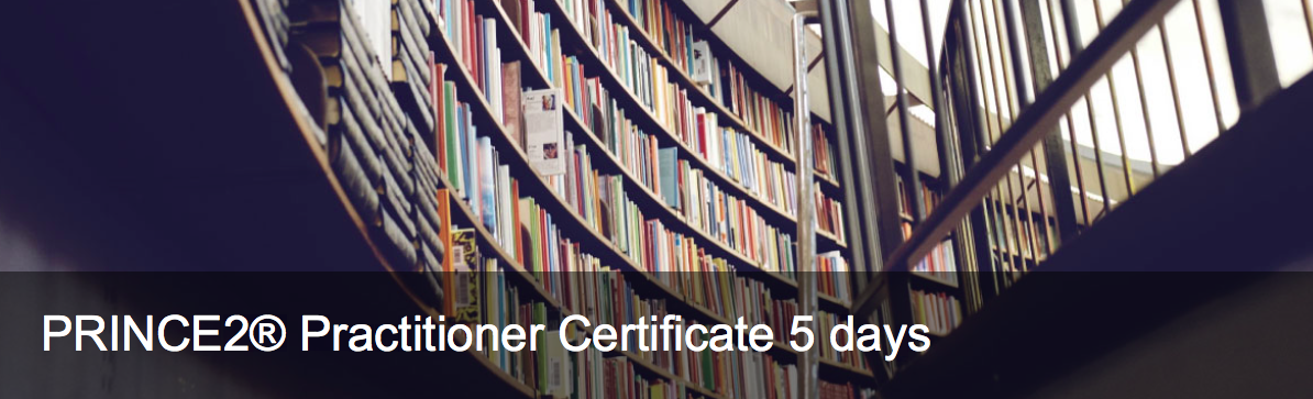 PRINCE2 Practitioner certificate