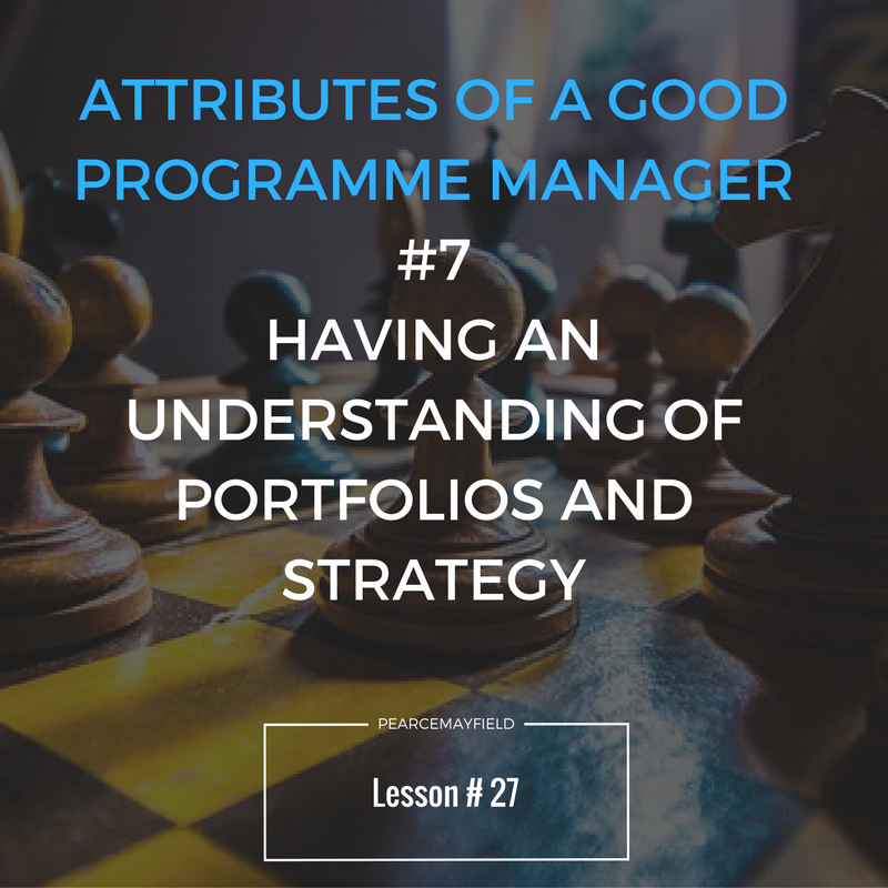Attributes of a Good Programme Manager