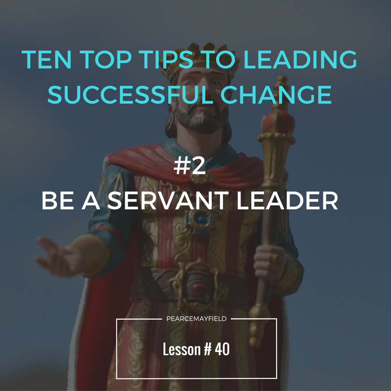 Ten Top Tips for Leading Successful Change